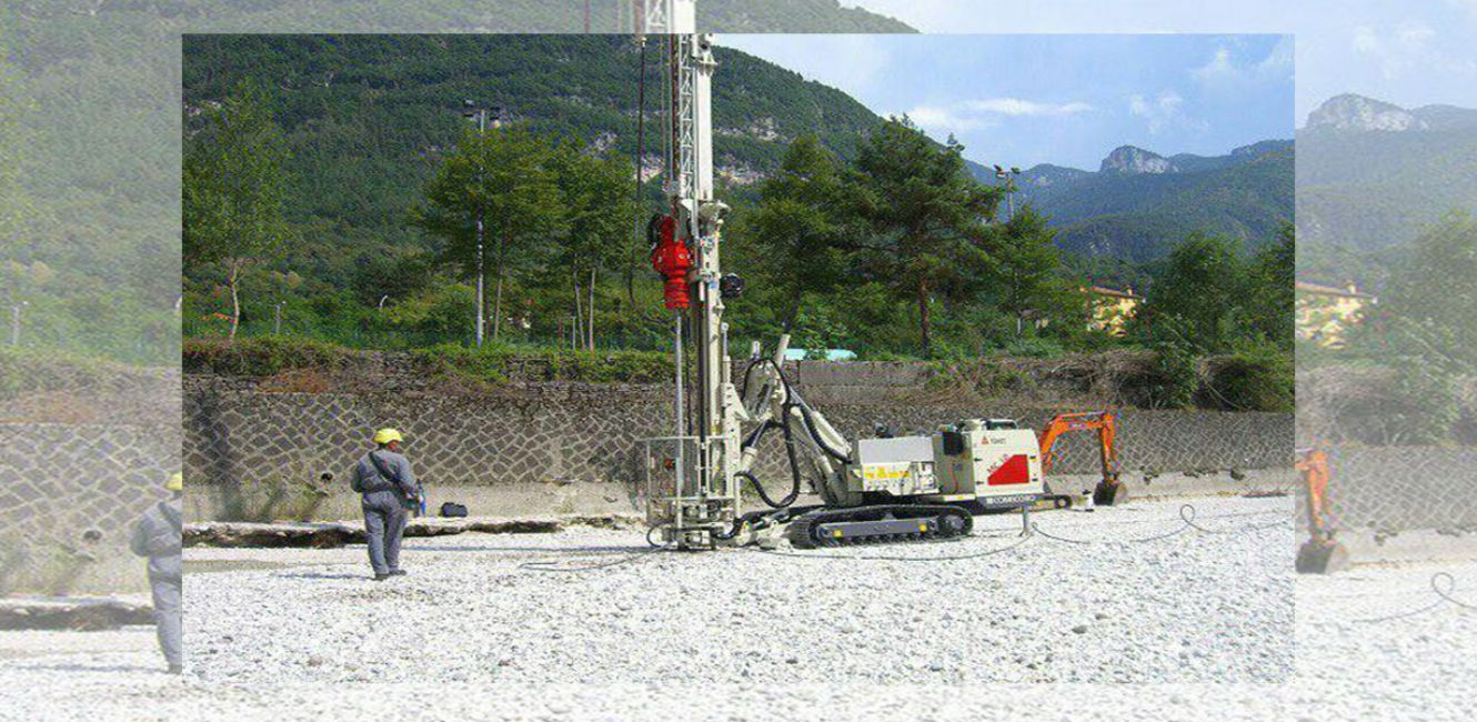 COMACCHIO JET GROUTING DRILLING RIG